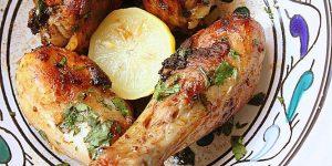 Pilons de poulet au four (en marinade)
