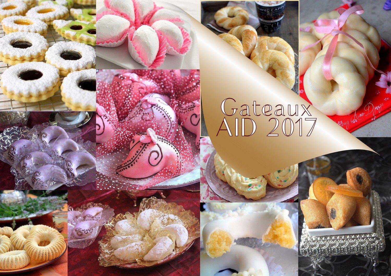 Gateaux à faire pour l'Aid 2017