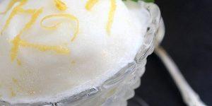 Créponné citron sorbet algérien