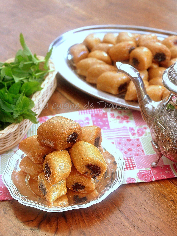 Makrout pâte d'abricot frit comment les réussir