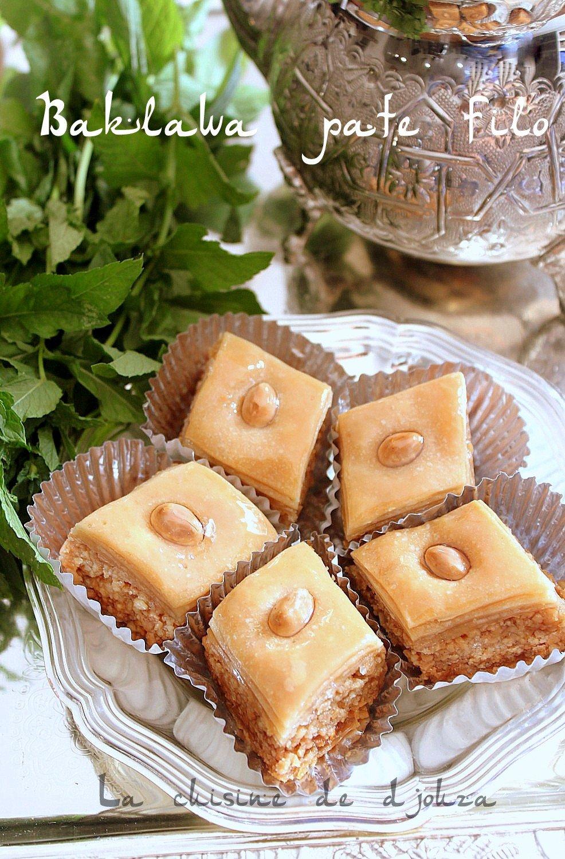 Recette baklawa facile à la pâte filo