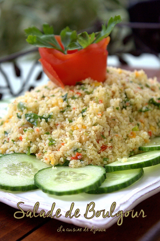 Salade De Boulgour Facon Taboule Recette Facile Cuisinez Avec Djouza