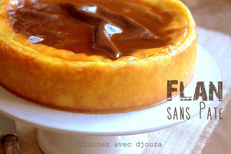 flan parisien maison sans pate