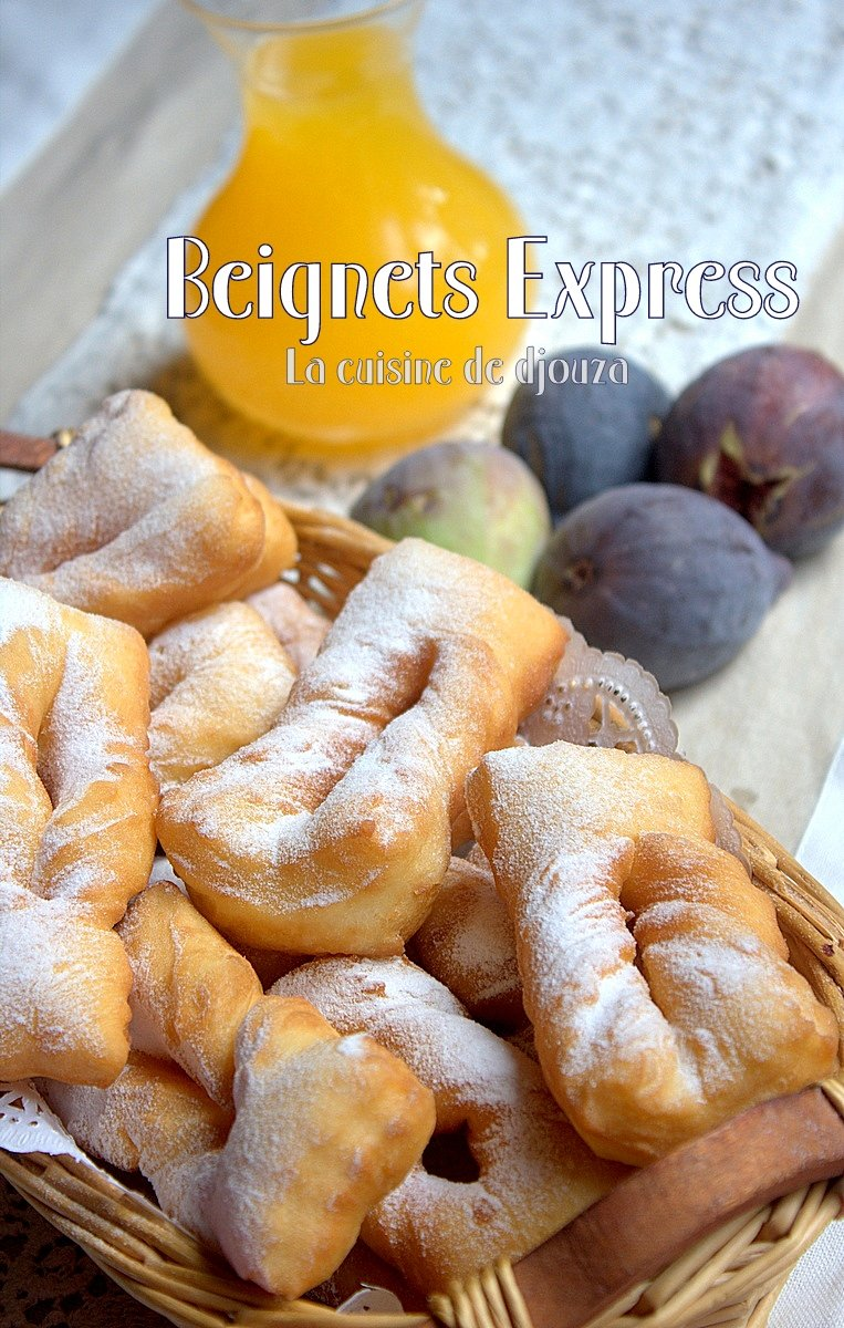 Beignet express sucr rapide recettes faciles recettes rapides de djouza - Recette de beignet moelleux et gonfle ...