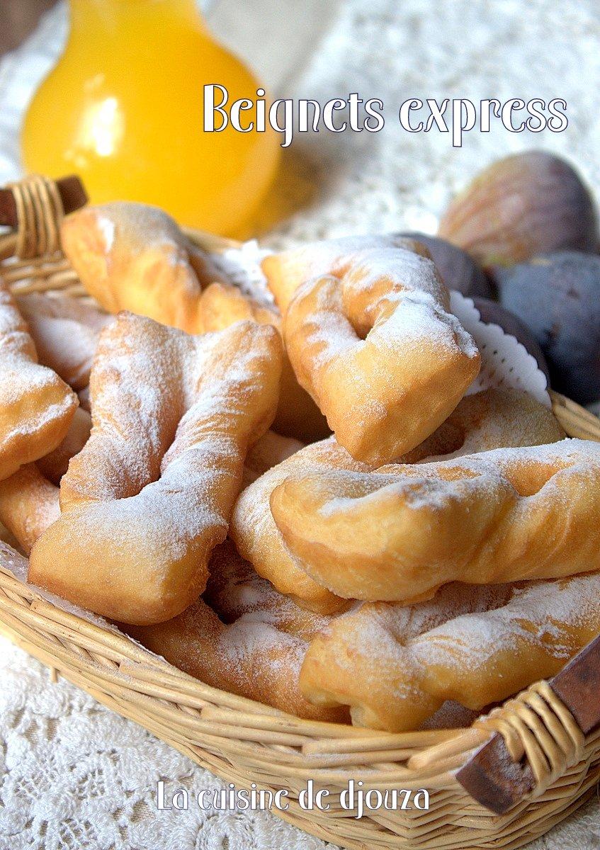 Beignet express sucr rapide recettes faciles recettes rapides de djouza - Recettes rapides 10 a 15 minutes maxi ...