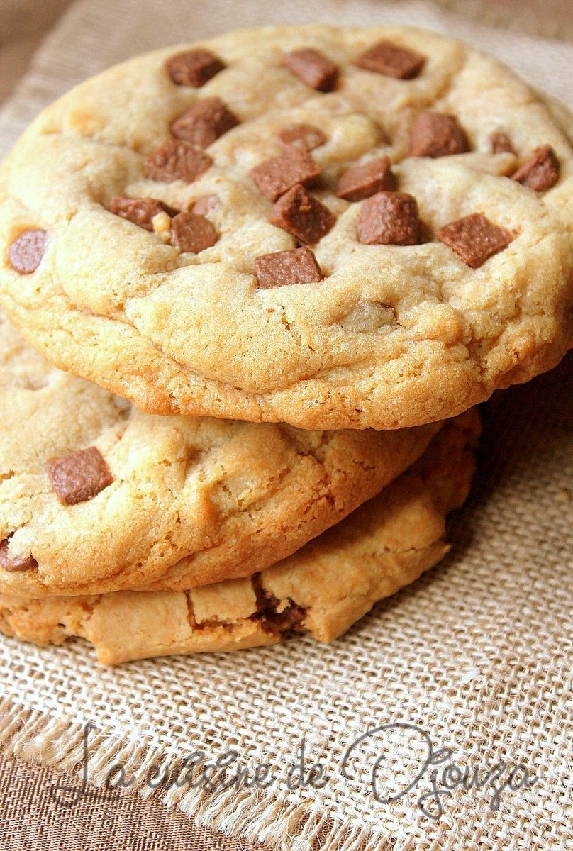 Cookies americains moelleux et fondants au chocolat
