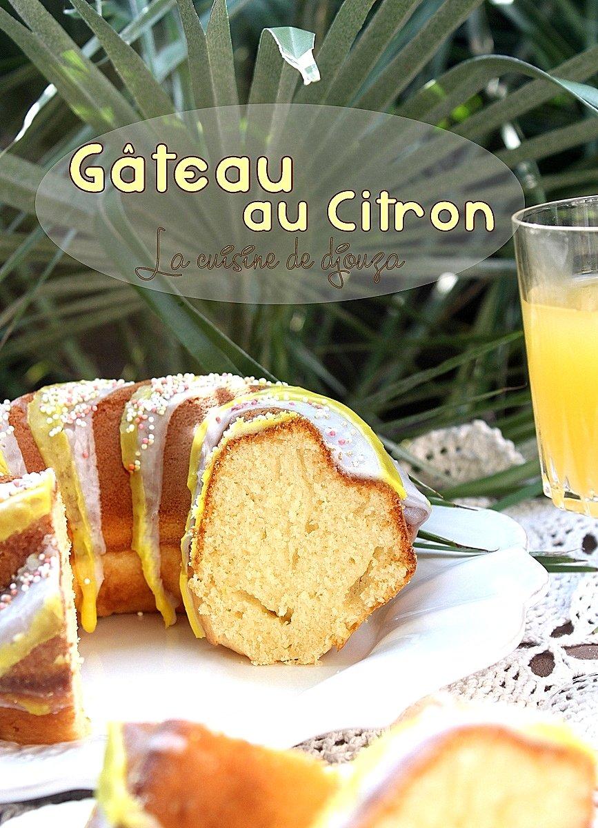 Recette de gâteau facile et délicieux au citron