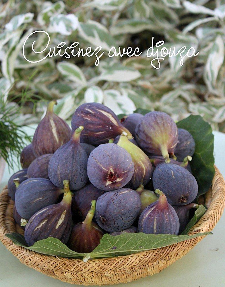 Confiture de figues violettes cannelle