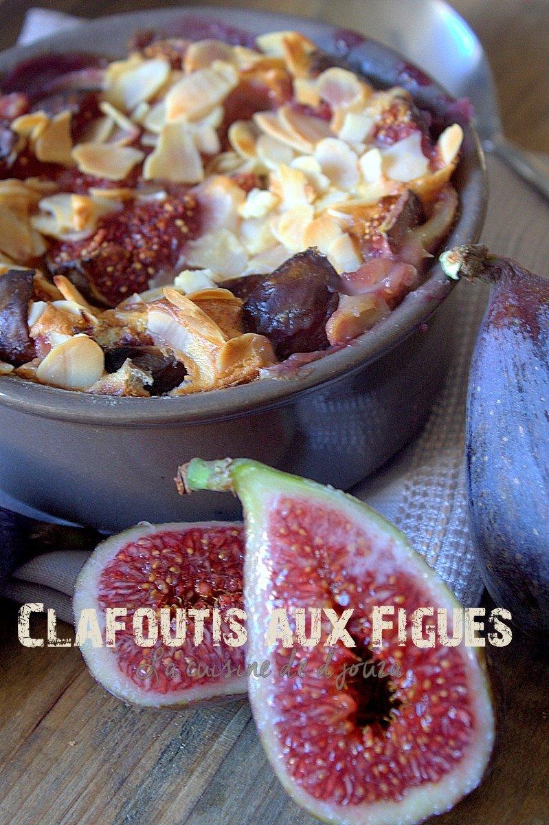 clafoutis aux figues fraîches