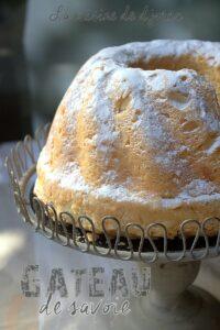 Gateau ou biscuit de savoie très moelleux et léger à la maizena