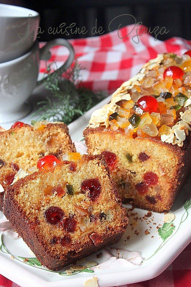 cake moelleux aux fruits confits recettes faciles recettes rapides de djouza. Black Bedroom Furniture Sets. Home Design Ideas