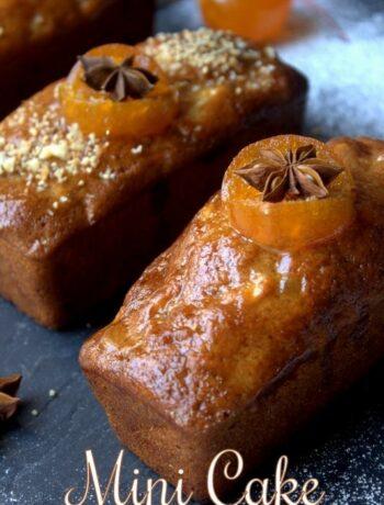 mini cake aux épices et pommes