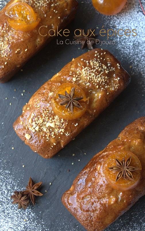 cake mini aux épices noix et pommes