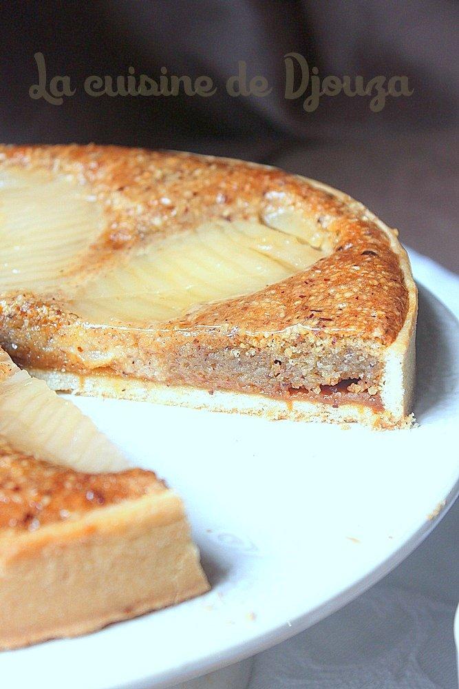 tarte aux poires et caramel beurre sal recettes faciles recettes rapides de djouza. Black Bedroom Furniture Sets. Home Design Ideas