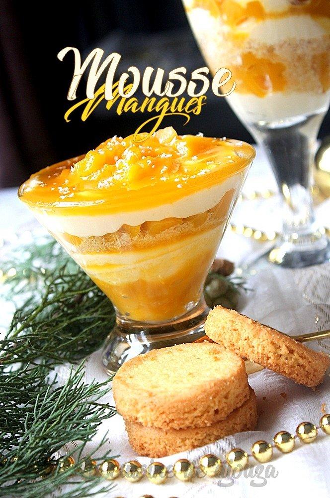 mousse de mangue mascarpone