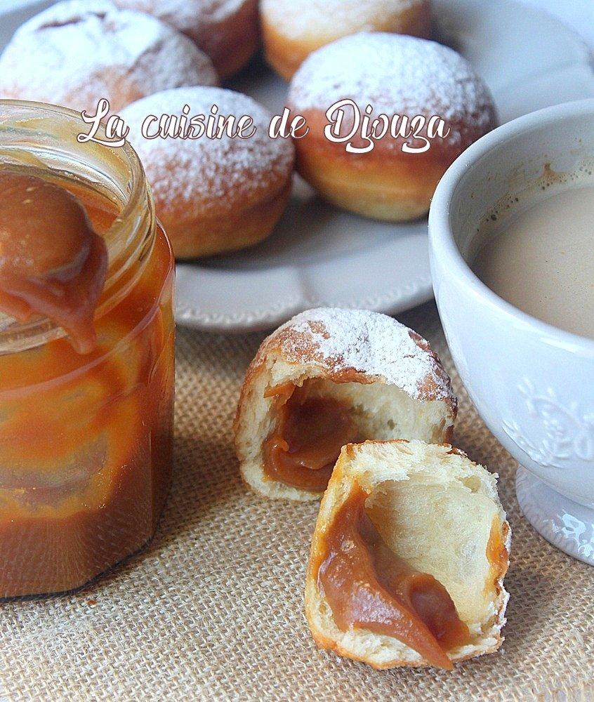 beignets legers moelleux caramel