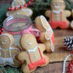 biscuits bonhomme en pain d'épices