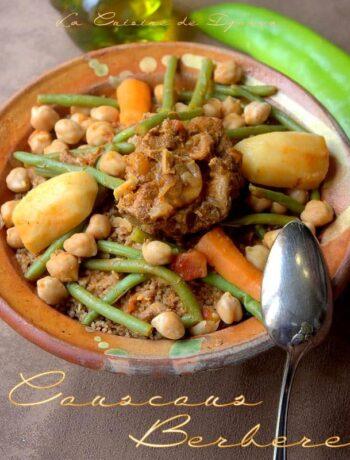 Couscous kabyle aux haricots