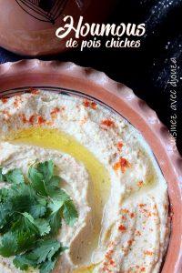 houmous recette libanaise au tahine