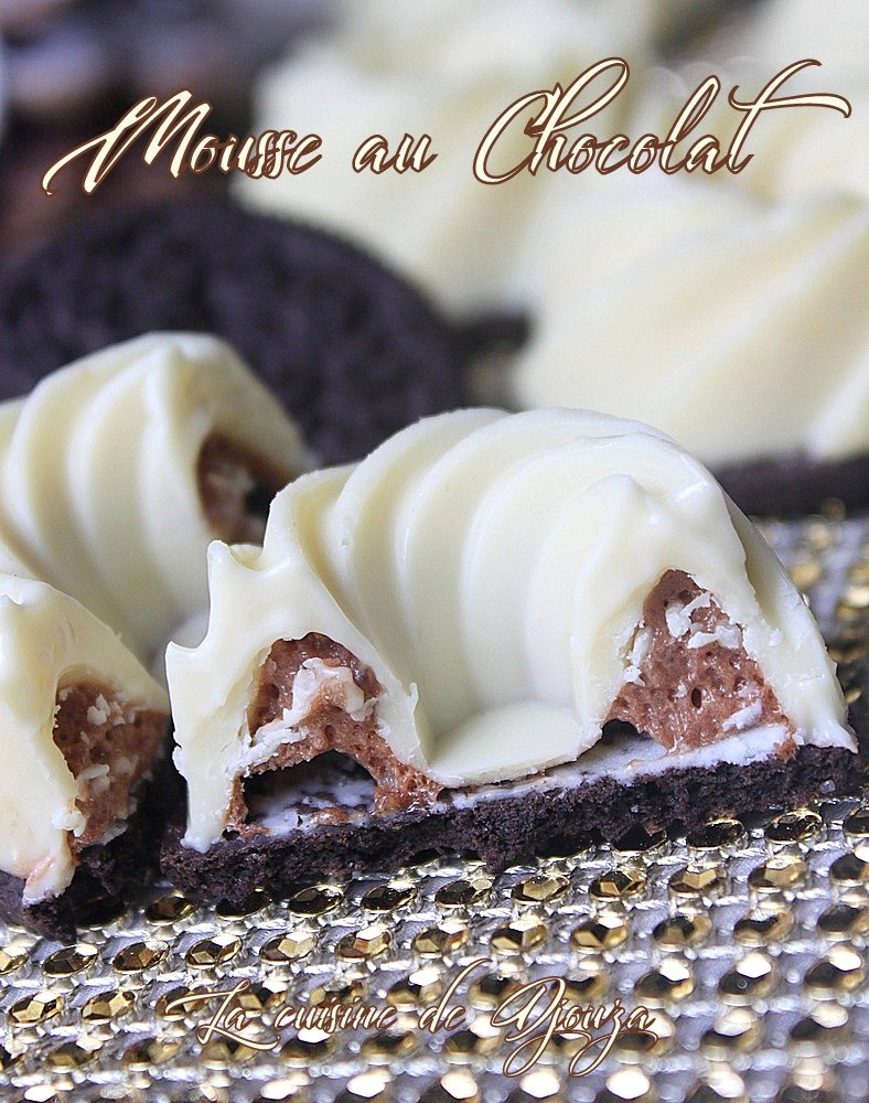 mousses chocolate