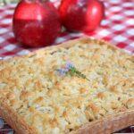 tarte pommes poires crumble