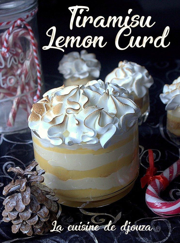 tiramisu au lemon curd et meringue italienne