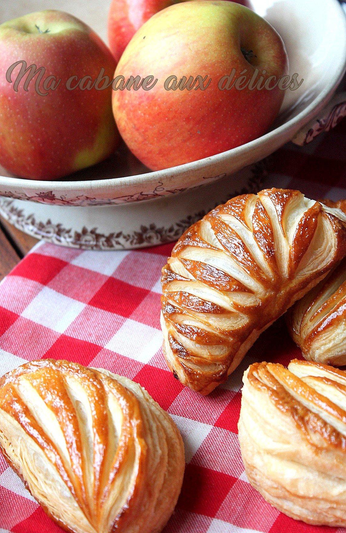 chaussons aux pommes maison