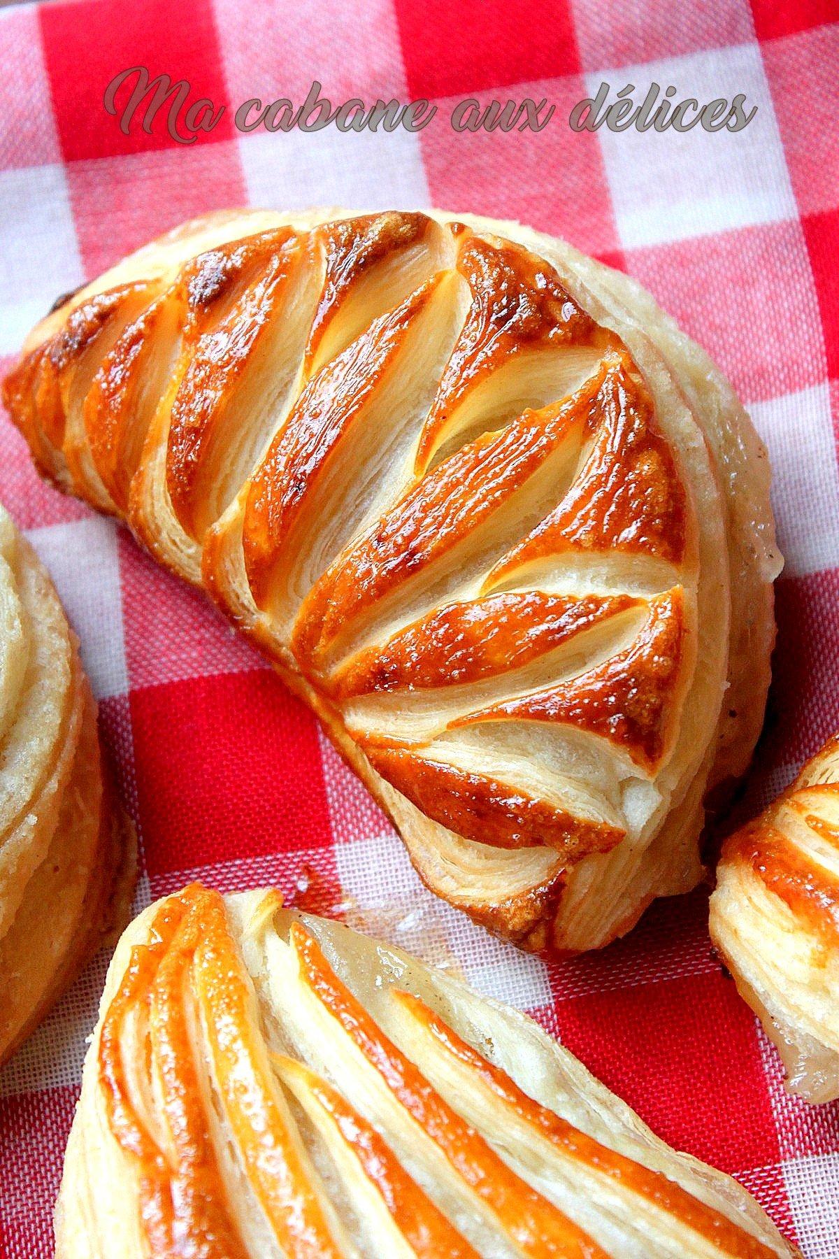 Chausson aux pommes compote de pommes