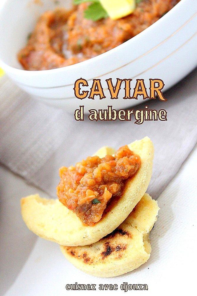 Caviar d'aubergines facile