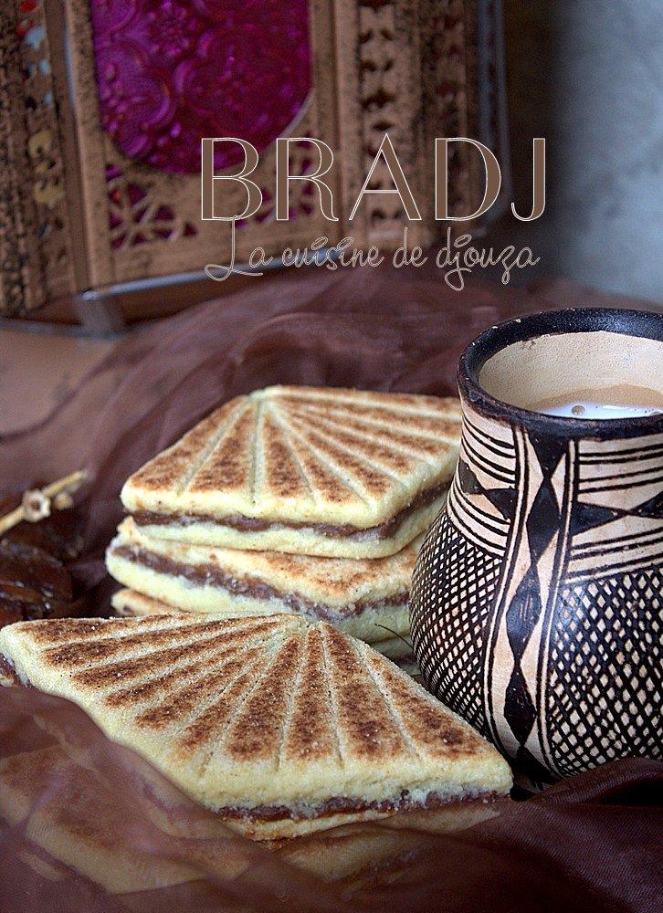 Mbardja, bradj constantinois, galette aux dattes