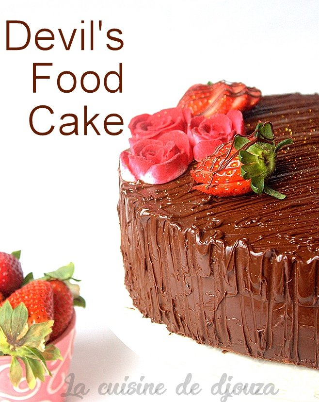 Gateau diablotin devil's food cake