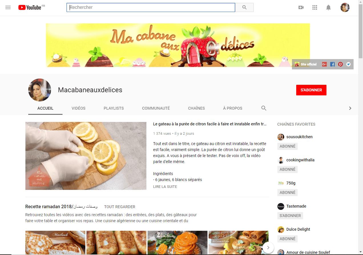 chaine youtube djouza s'abonner