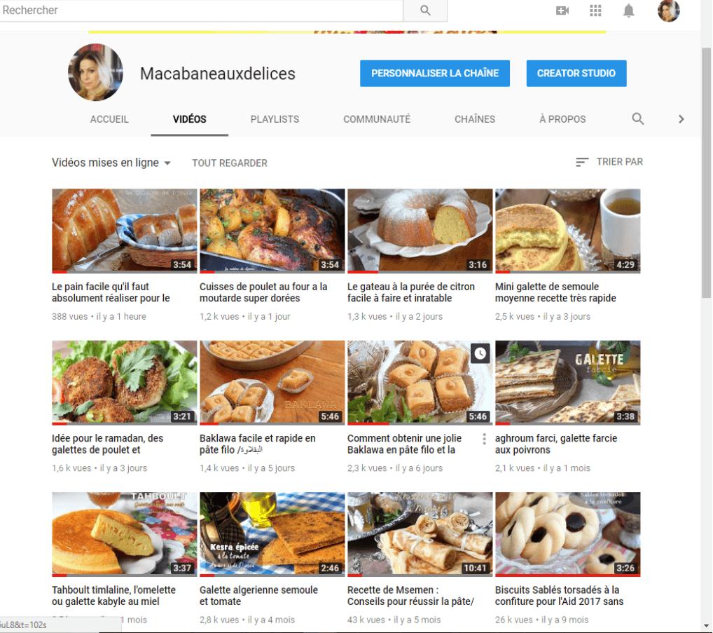 Chaîne Youtube Djouza