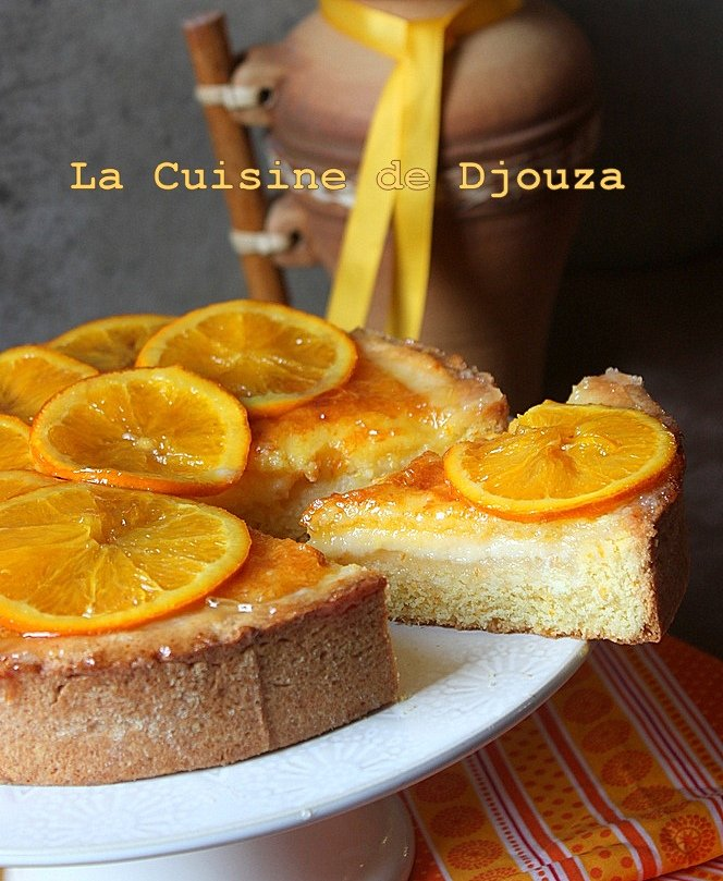 gâteau à l'orange facile