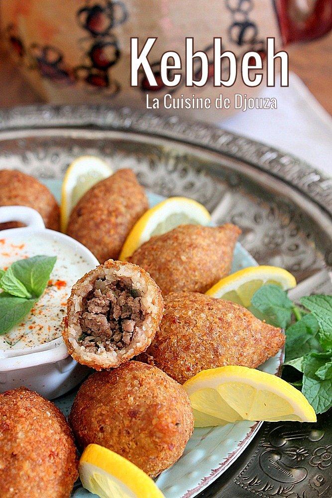 Boulettes palestinenne au boulgour et viande hachée