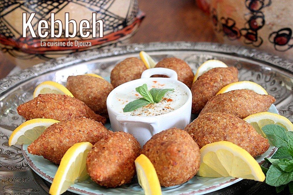 Croquettes de kebbé à la viande