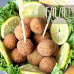 Falafel libanaise recette aux pois chiches