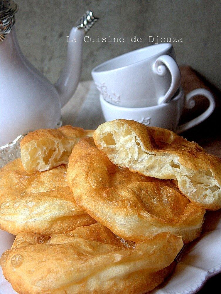 beignet khfaf a la farine au pétrin