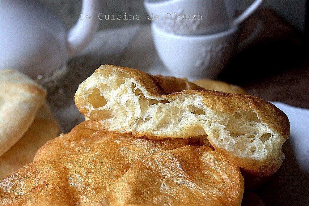 Recette beignet khfaf a la farine au pétrin