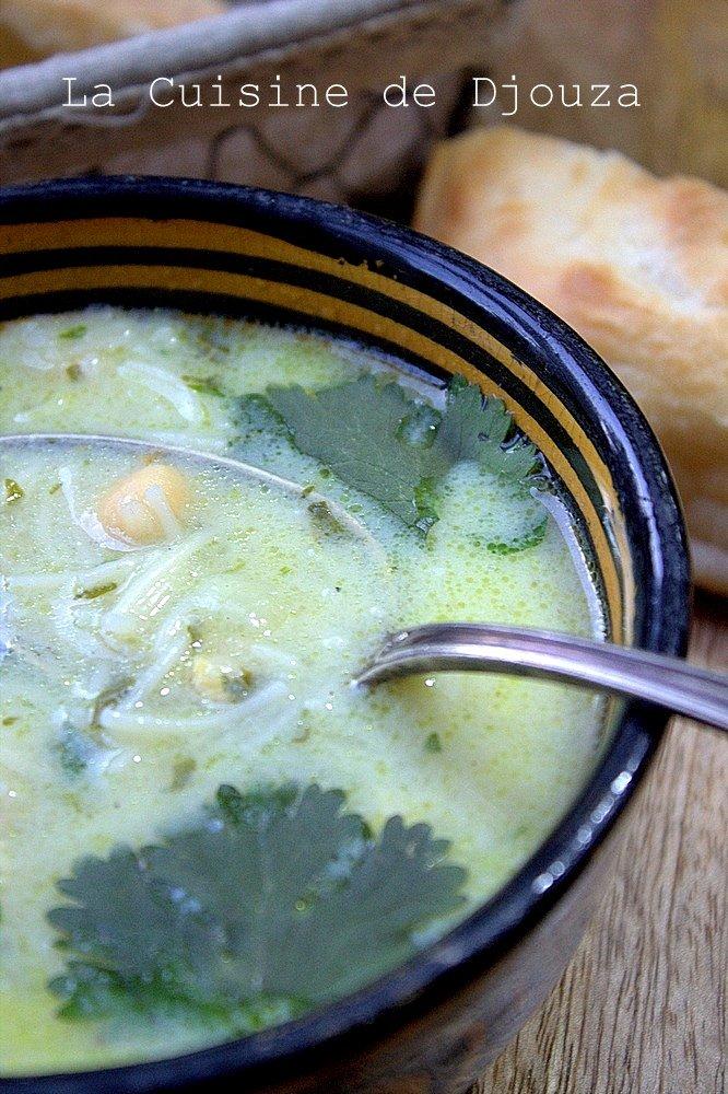(soupe algéroise au poulet)