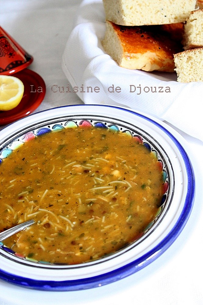 Recette soupe Harira marocaine