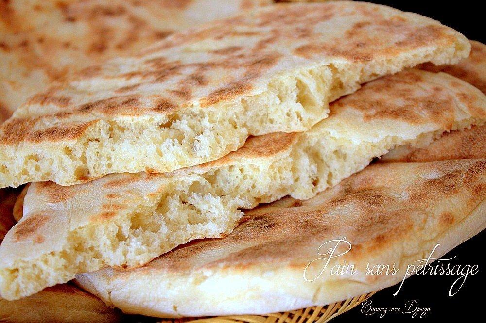 pain matloua maison sans petrissage