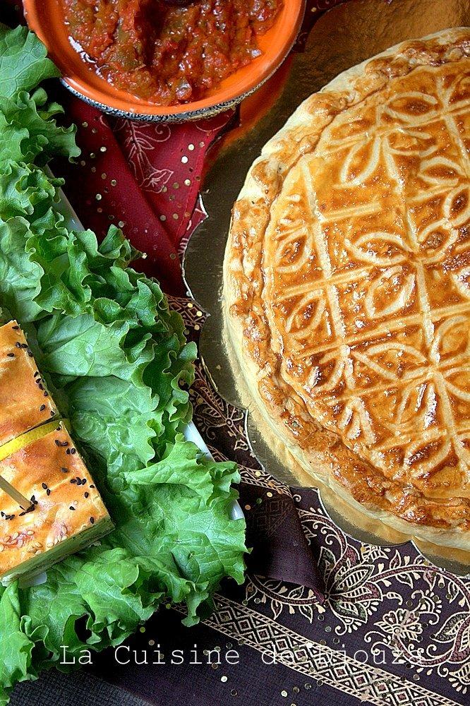 recette de tajine tunisien en tourte