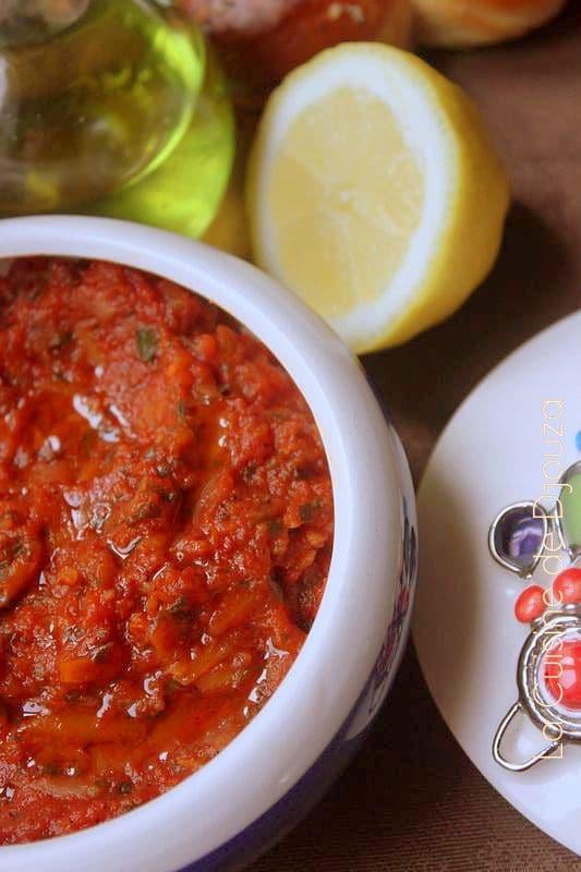 Caviar à la tomate fraiche