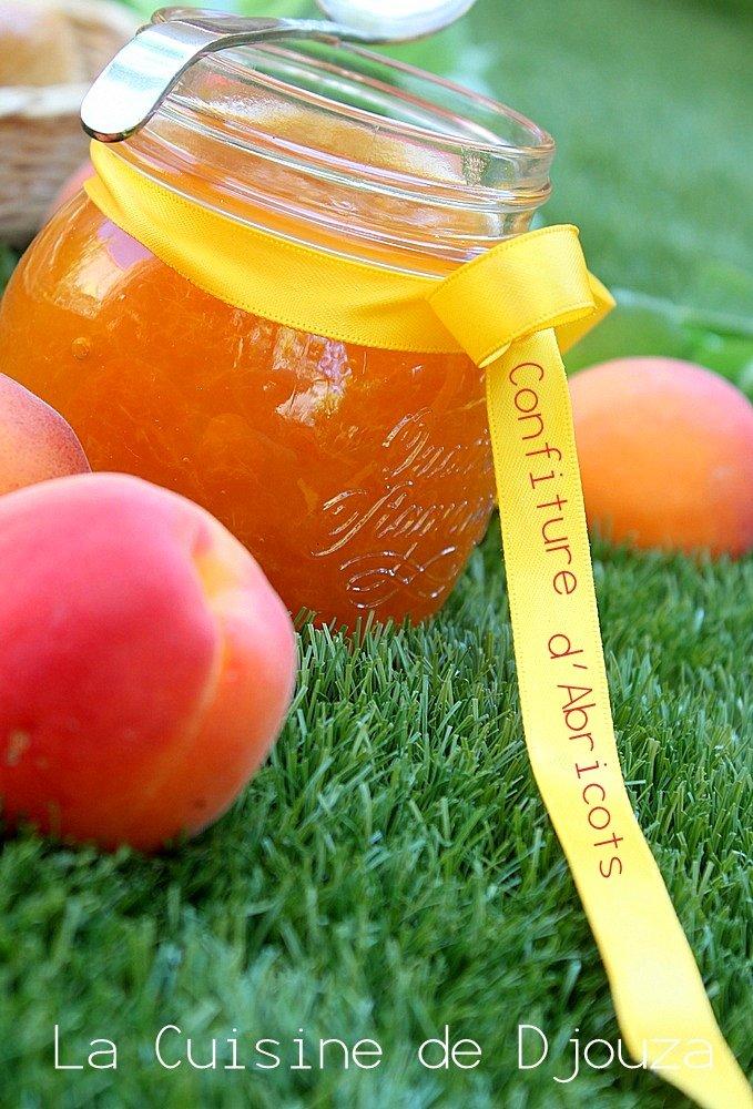 Confiture d'abricot peu sucrée