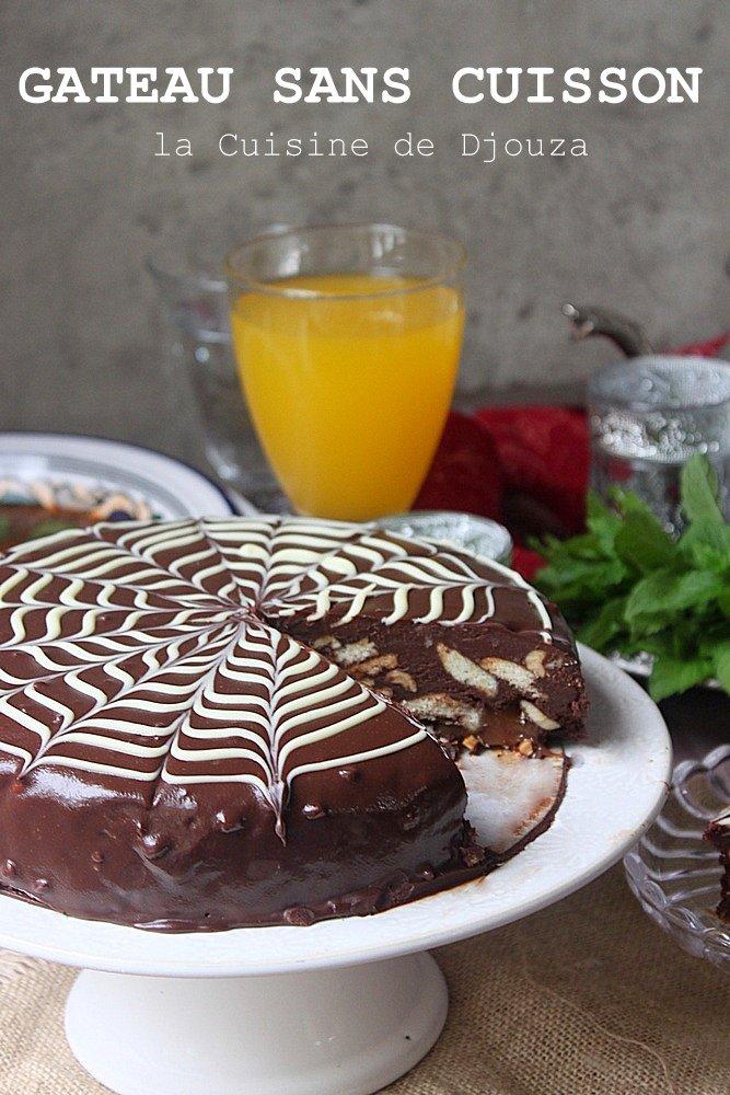 Gâteau ganache