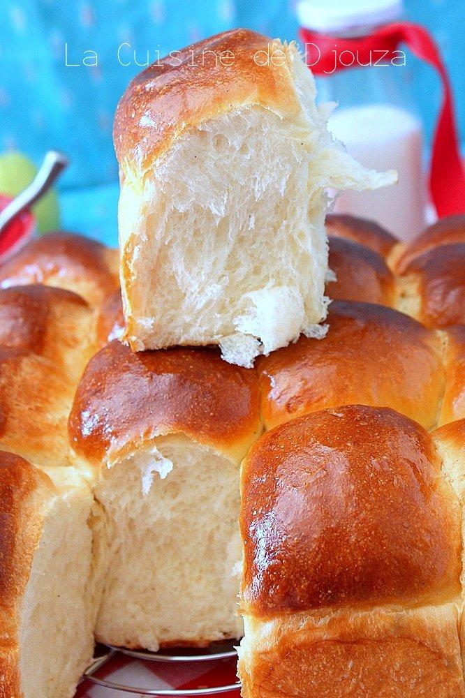 Brioche filante au beurre
