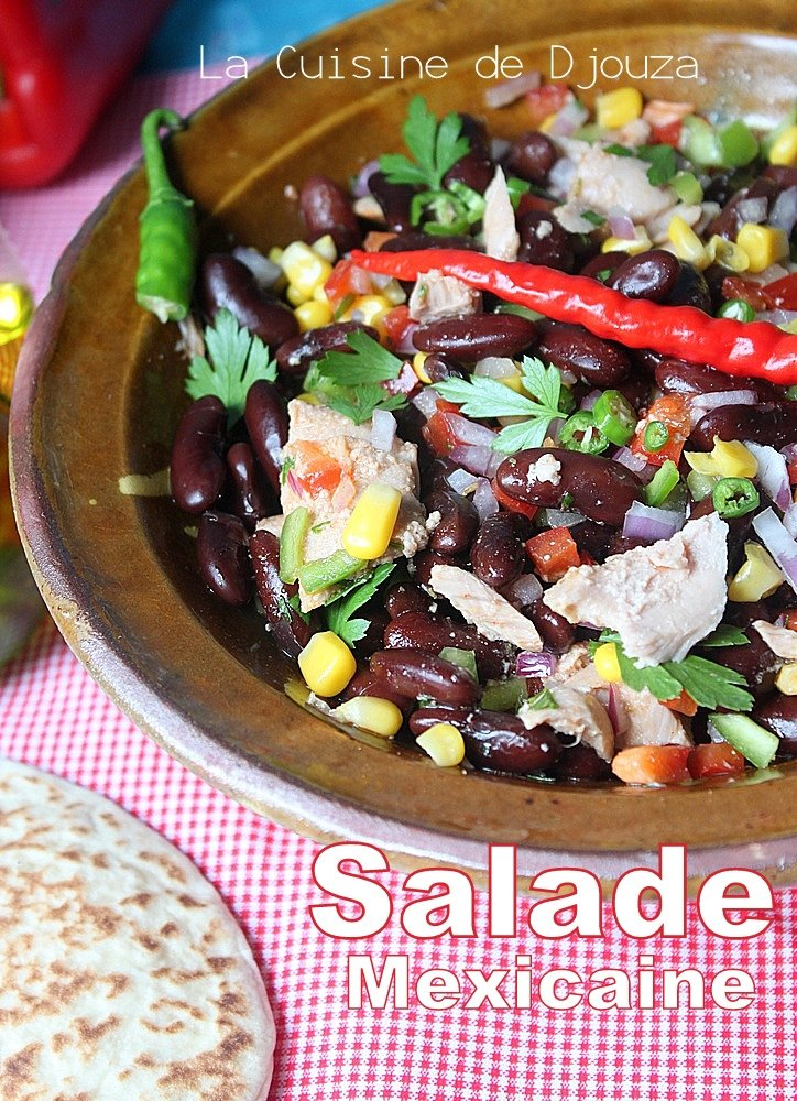 Salade mexicaine aux haricots rouges
