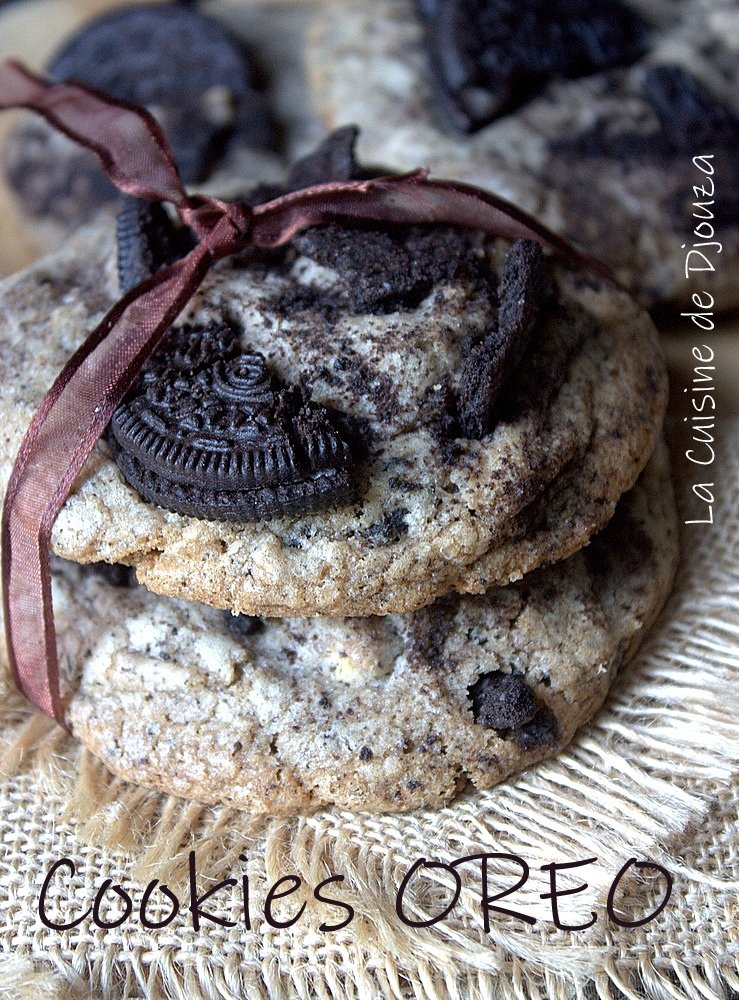 Cookies avec des biscuits oreo