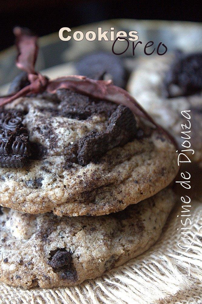 Recette de cookies oreo et daim caramel